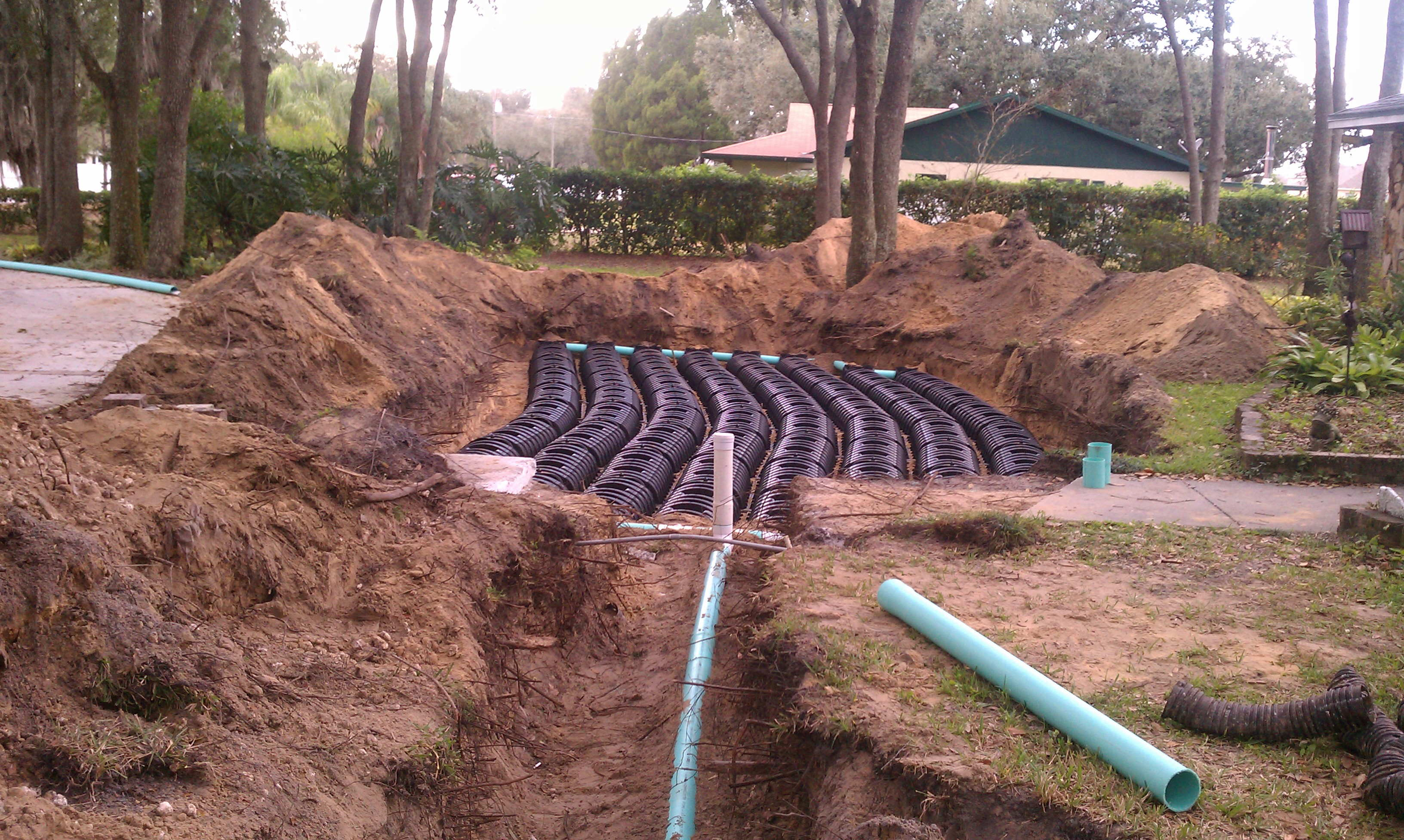Septic services residential septic services in tampa fl for Residential sewer systems