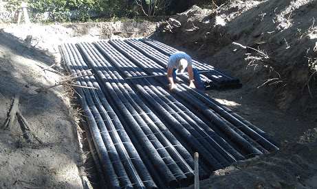 New Drainfield Installed for Septic in Brandon, Florida