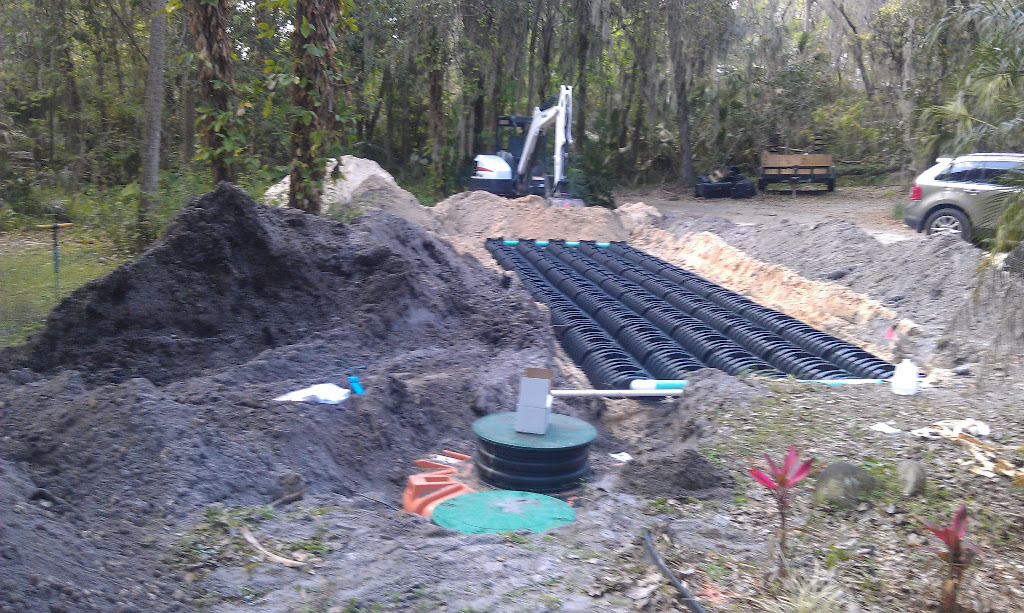 New Septic Tank System