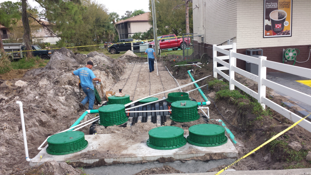 Septic and ATU Tank Installation