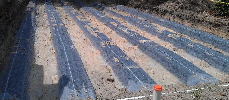 Commercial Septic Drain Field in Tampa, Florida